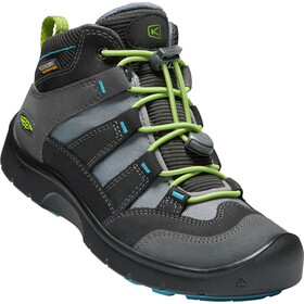 Keen Hikeport Mid WP Shoes Kinder magnet/greenery